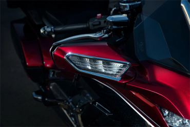20114-1 Goldwing,Goldwing/DCT,GoldwingTour,GoldwingTour/DCTパーツ クロームウィンカートリムセット